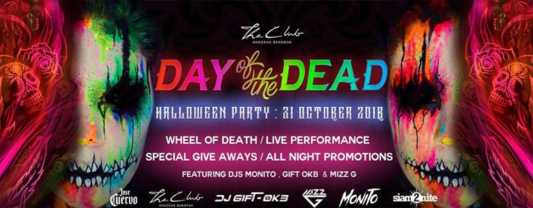 The Day of the Dead Halloween Party