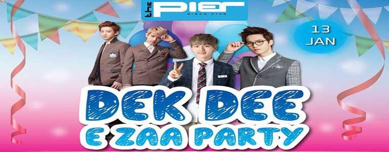 Dek Dee E Zaa Party Hosted by The Pier Pattaya
