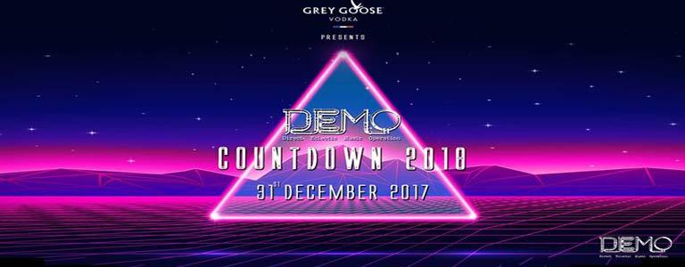 Grey Goose presents Countdown 2018 Party at Demo Disco Club Bangkok