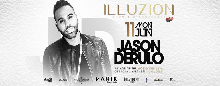 Jason Derulo at Illuzion Phuket