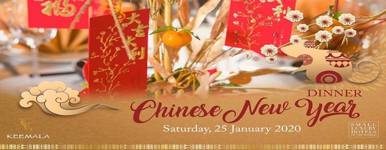 Chinese New Year Dinner at Keemala