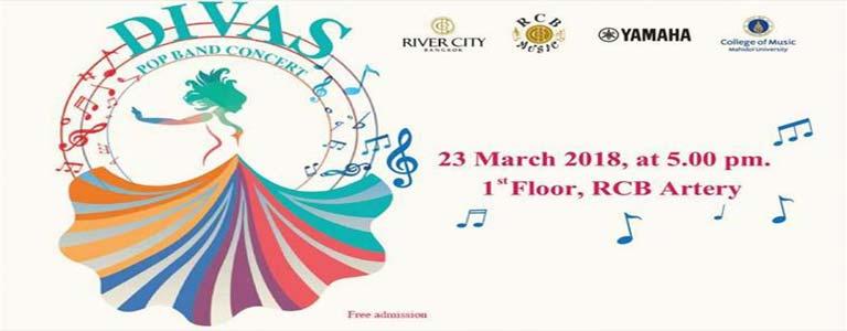 DIVAS POP BAND Concert at River City Mall