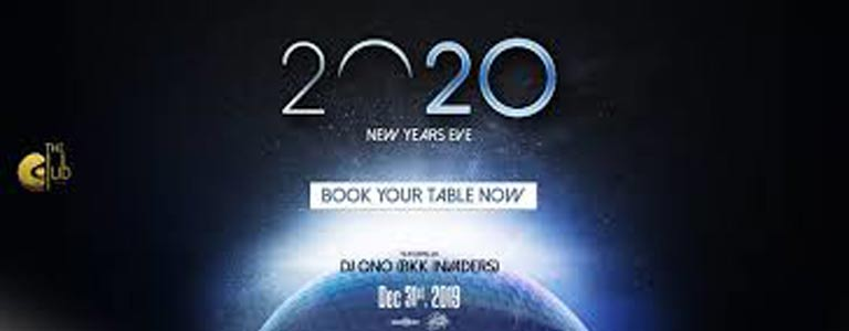 New Years Eve 2020 with DJ Ono at The Club@Koi