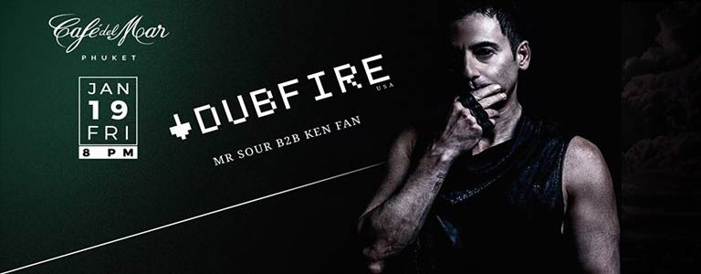 DUBFIRE (USA) at Café Del Mar Phuket
