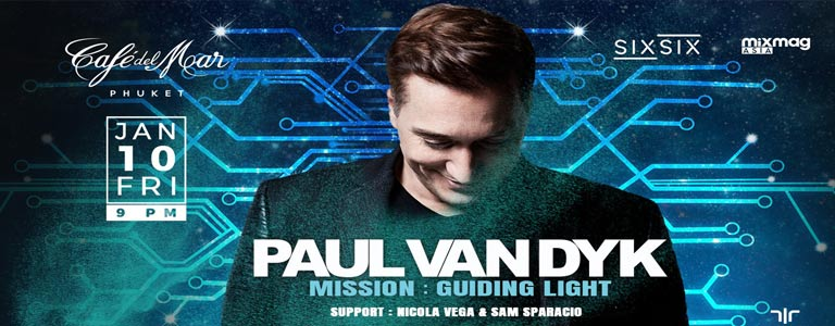 Paul Van Dyk at Café del Mar Phuket