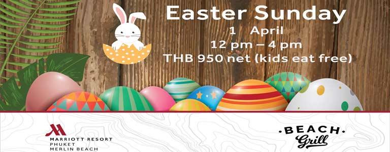 Easter Sunday at Marriott Resort & Spa