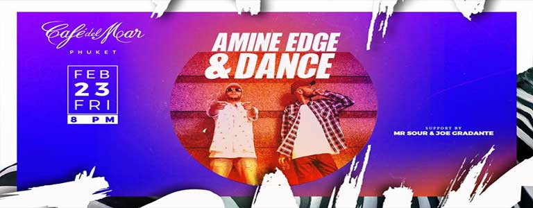 Amine Edge & Dance at Cafe del Mar Phuket