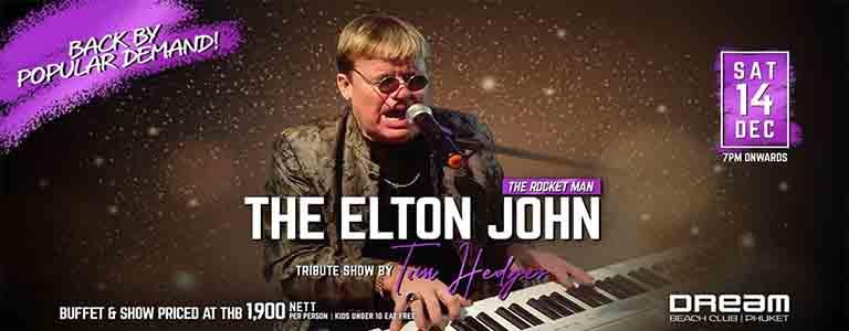 Elton John Tribute Show by Tim Hedges | The Rocket Man is Back