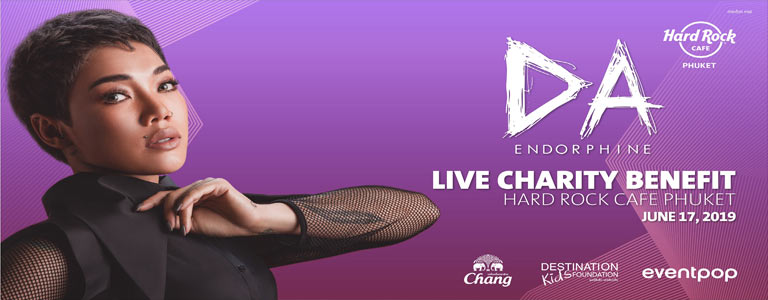 Da Endorphine Live Charity Benefit at Hard Rock Cafe Phuket