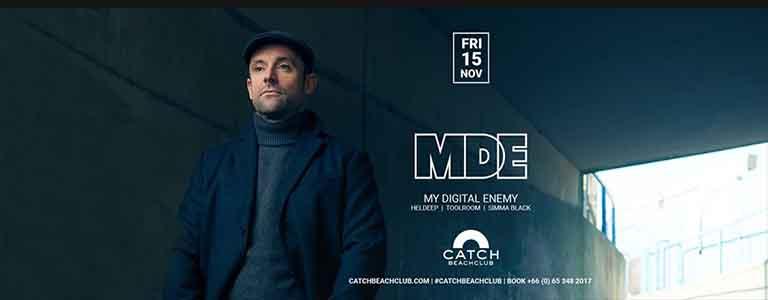 My Digital Enemy at Catch Beach Club