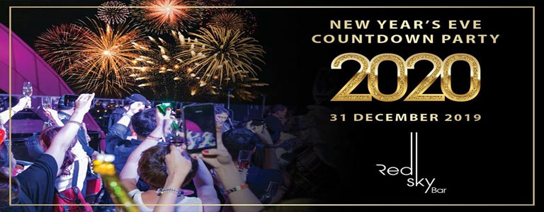 New Year's Eve Countdown Party at Red Sky