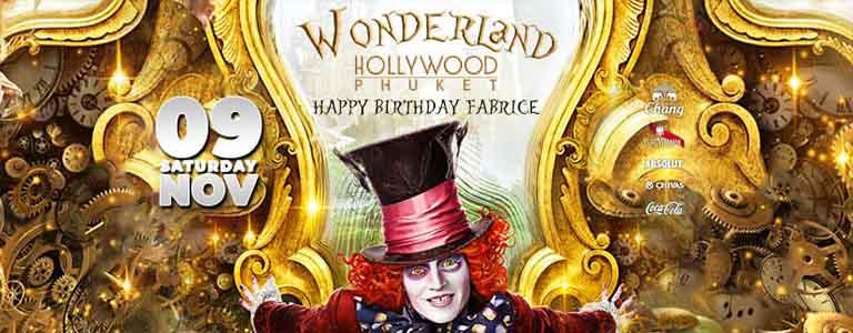 Wonderland Presents: Happy Birthday Fabrice