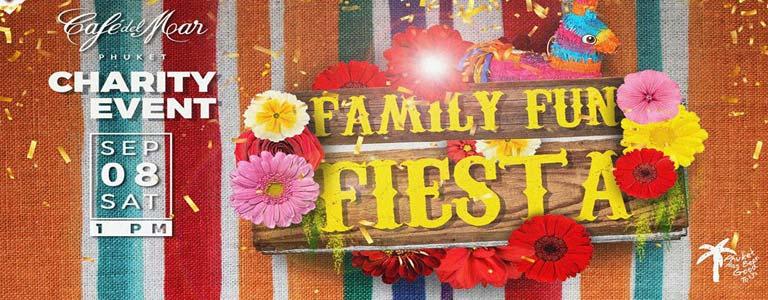 Family Fun Fiesta at Cafe del Mar Phuket