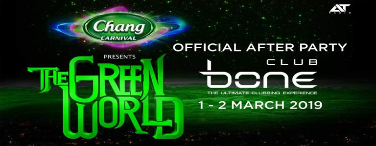 "Official After Party The Green World ""Fantasy Ocean"""