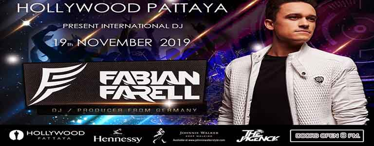 Hollywood Pattaya Present Fabian Farell