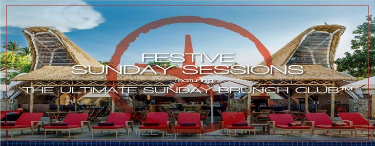 Festive Sunday Sessions ft The Ultimate Sunday Brunch Club™