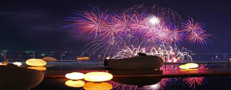International Fireworks Festival at Hilton Pattaya