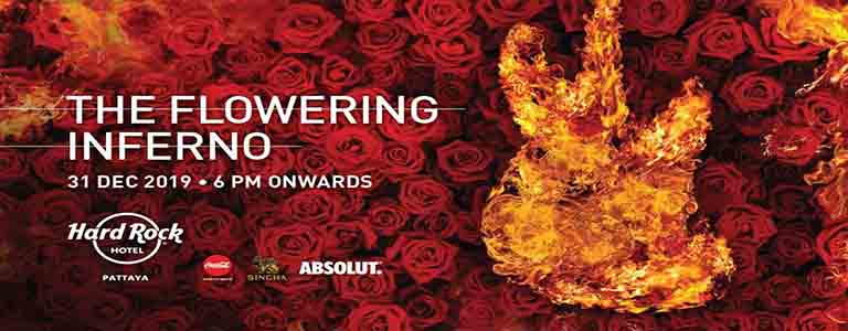 """New Year's Eve Party 2020 """"The Flowering Inferno"""""""