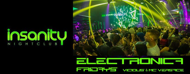 Friday Night at Insanity Disco Club Bangkok