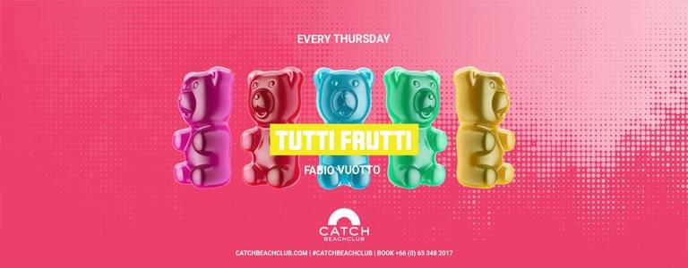 Tutti Frutti at Catch Beach Club