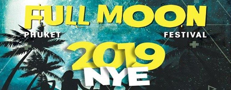 Full Moon Festival NYE 2019 at Paradise Beach