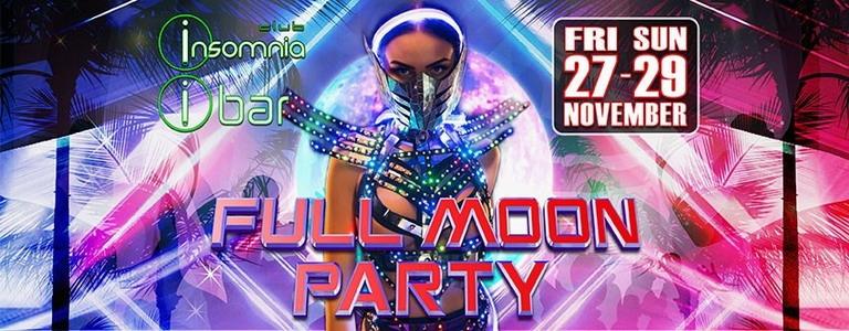 Club Insomnia presents Full Moon Party