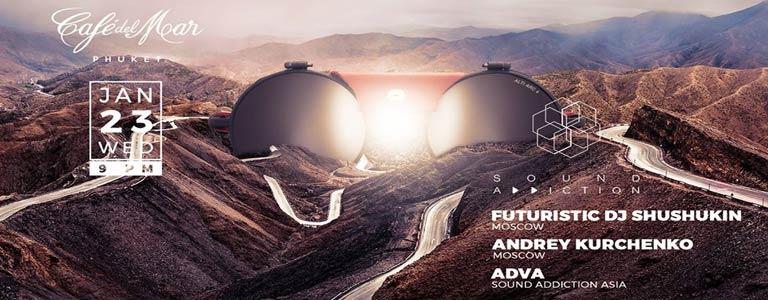 Sound Addiction pres: Futuristic Dj Shushukin