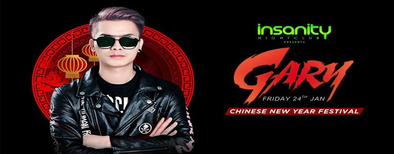 Chinese New Year Festival w/ DJ Gary at Insanity