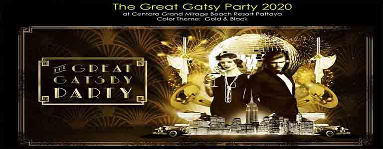 The Mirage Gatsby Countdown Party 2020