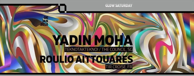 Yadin Moha at Glow Disco Club Bangkok