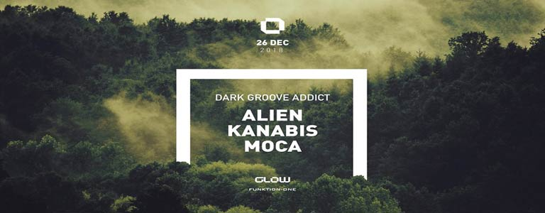 GLOW Wednesday w/ Dark Groove Addict