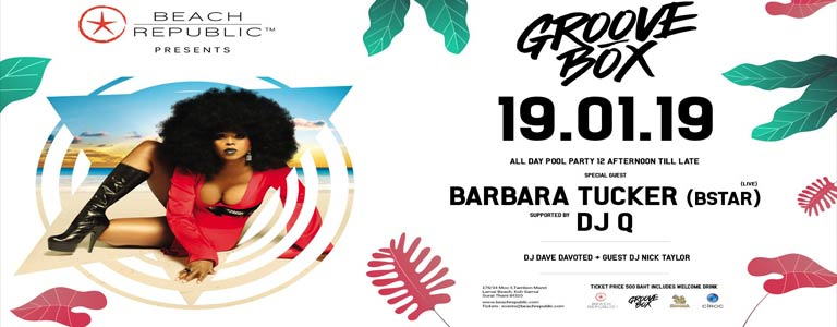 Groovebox presents Barbara Tucker Live