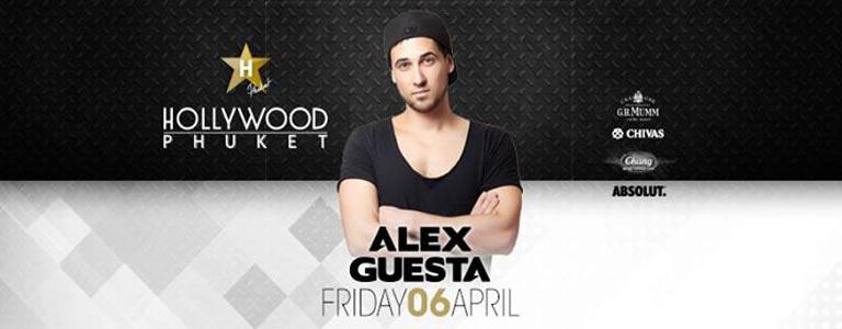 Alex Guesta at Hollywood Phuket