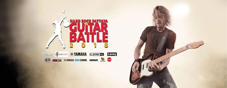 Hard Rock Pattaya Guitar Battle 2018