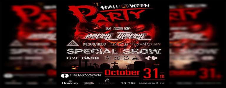 Halloween Night Party at Hollywood Pattaya