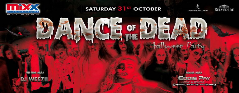 DANCE OF THE DEAD Halloween Party