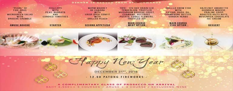 Happy New Year at The 9th Floor Phuket