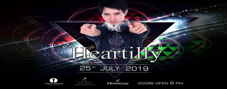 Hollywood Pattaya present Dj Heartilly