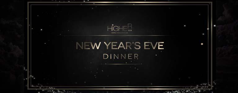 New Year's Eve Dinner at Higher Phuket