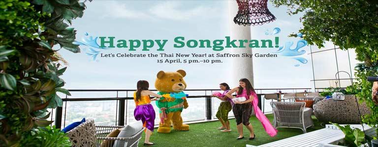 The Highest Songkran Party at Saffron Sky Garden