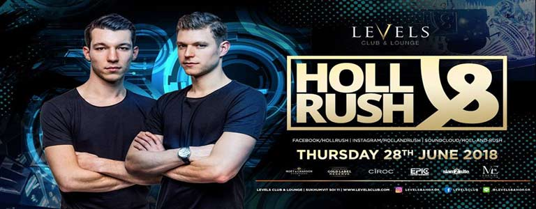 HOLL & RUSH at Levels Club & Lounge