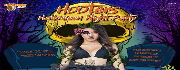 Halloween Weekend at Hooters Phuket