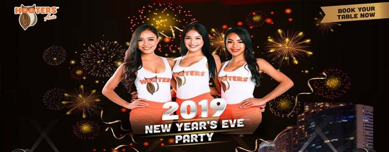 Hooters Pattaya NEW YEAR'S EVE