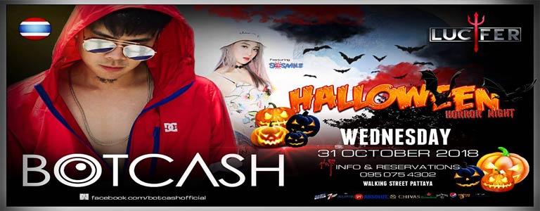 Halloween Horror Night with Dj Botcash feat. SoSmile