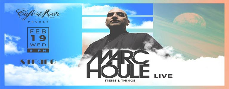 Stereo Wednesday w/ Marc Houle at Café del Mar