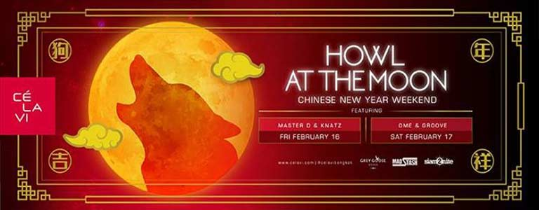 Chinese New Year Weekend at CÉ La Vi Bangkok