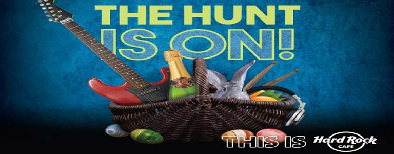 The Hunt is On at Hard Rock Cafe Pattaya