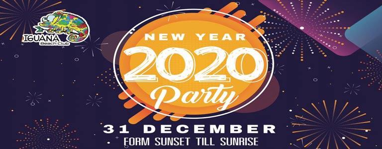 New Year Party at Iguana Beach Club