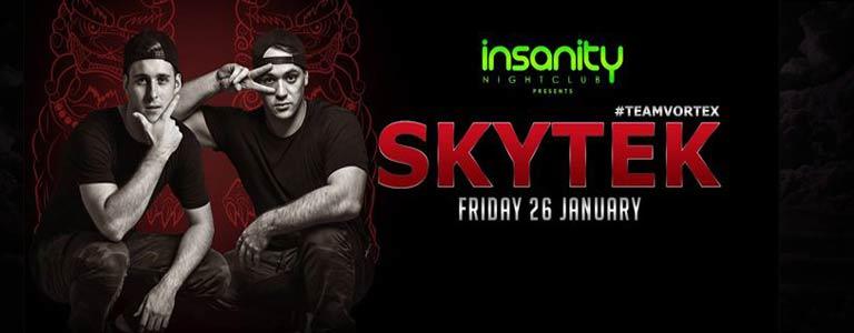 DJs Skytek at Insanity Nightclub Bangkok