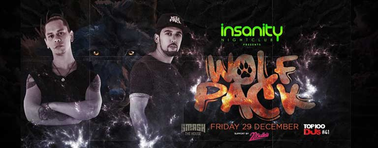 WOLF PACK Hosted by Insanity Nightclub Bangkok